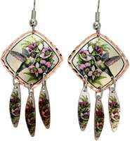 Dangle hummingbird earrings for a fashionable look that is mysteriously attractive and feminine