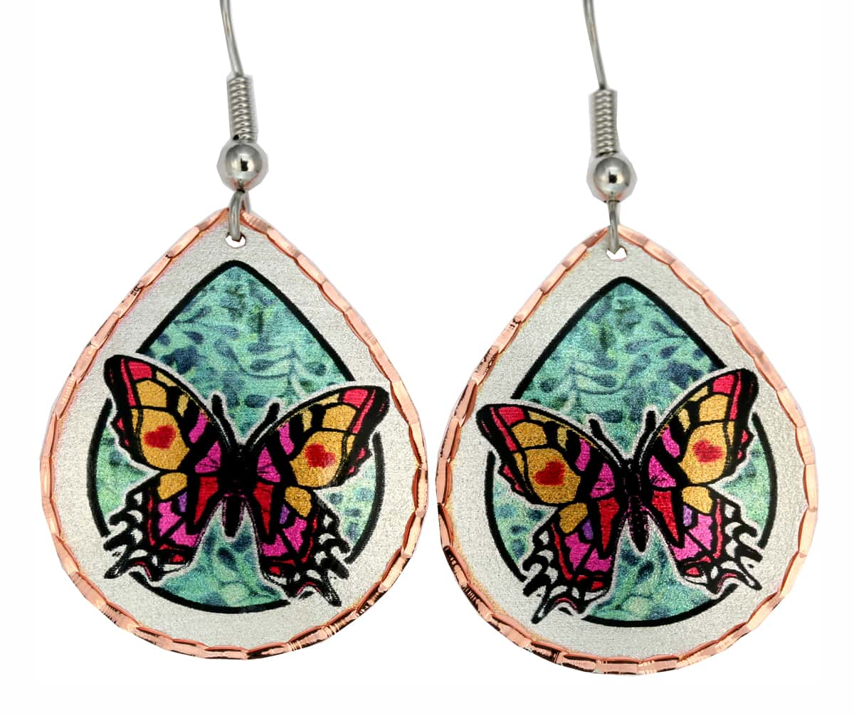 Swallowtail Butterfly Earrings JL-08
