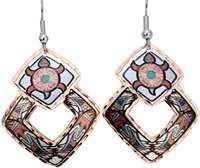 SW Native Indian turtle earrings. You will be amazed by the quality and originality of our handmade jewelry
