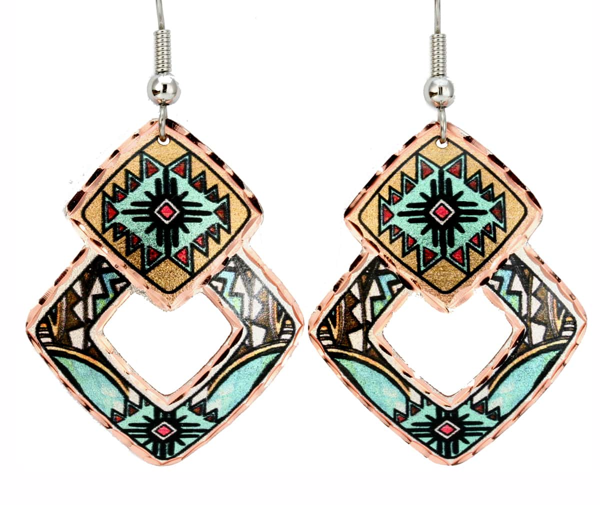 Buy Southwest Native Zia Earrings