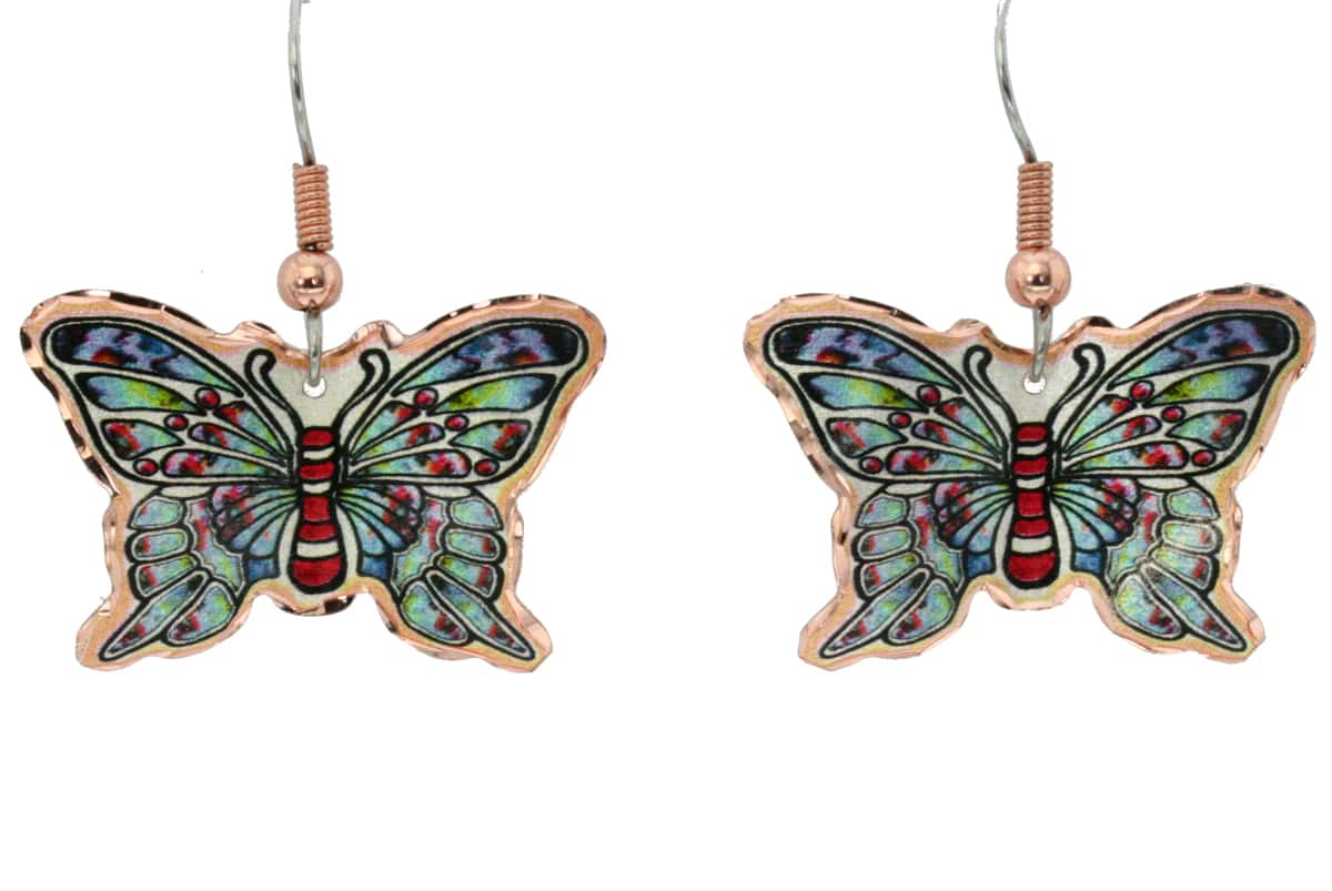 Butterfly earrings for a fashionable look that is dainty and feminine