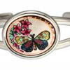 Purchase flowers and butterfly wire bracelet, wholesale handcrafted bracelets