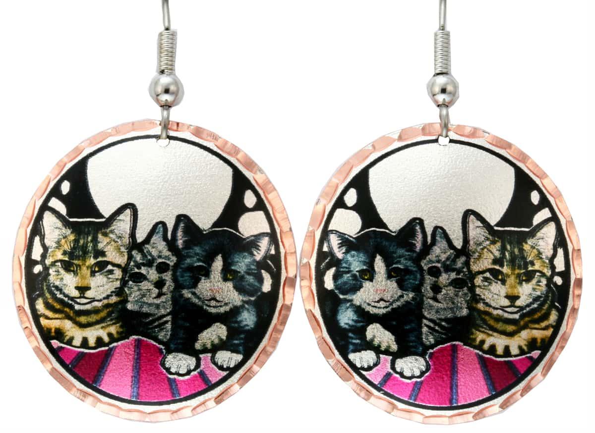Purchase Cute Cat Earrings Now!