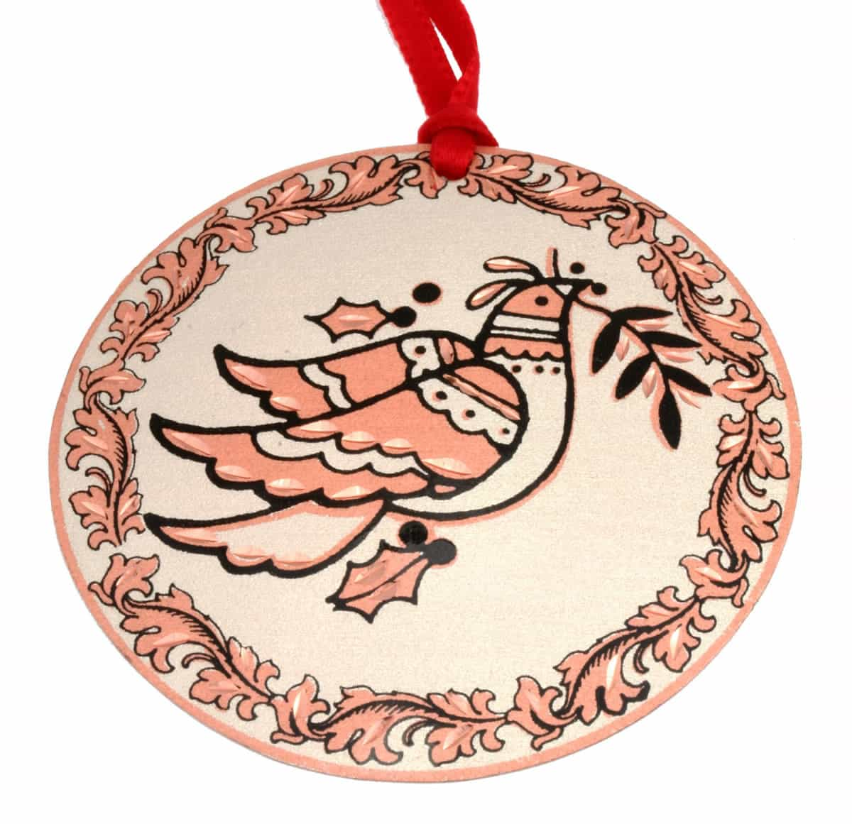 Purchase this delightful dove Christmas tree ornament for your loved ones