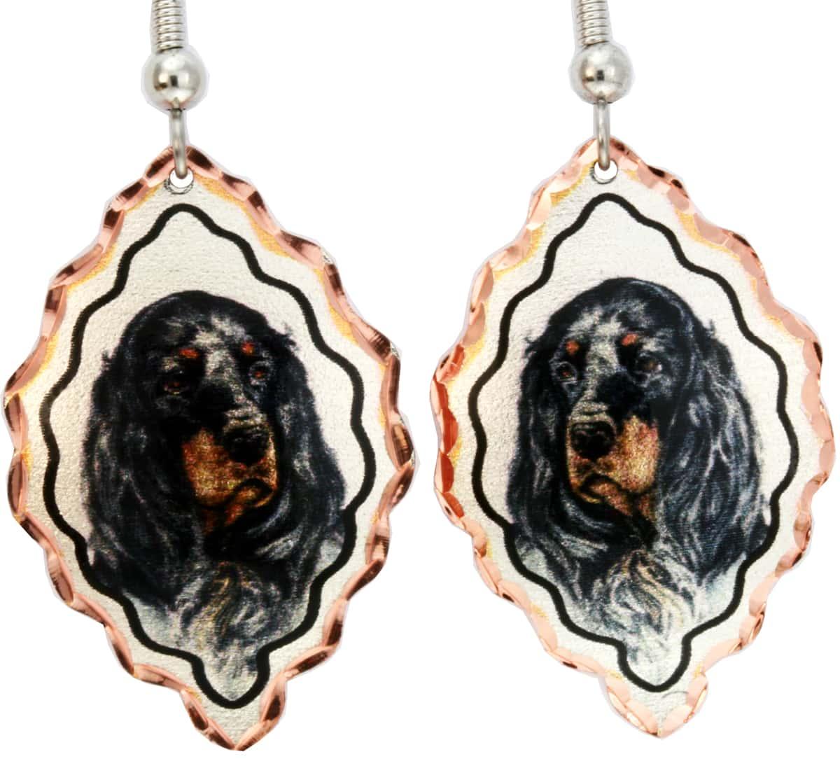 Wholesale Art Jewelry, Dog Earrings