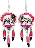 Horse Dangle Earrings CM-221