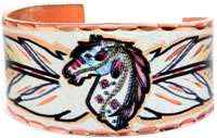 Wear horse rings for that southwestern look you want