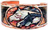 Horse Jewelry Painted Ponies Rings RY-25