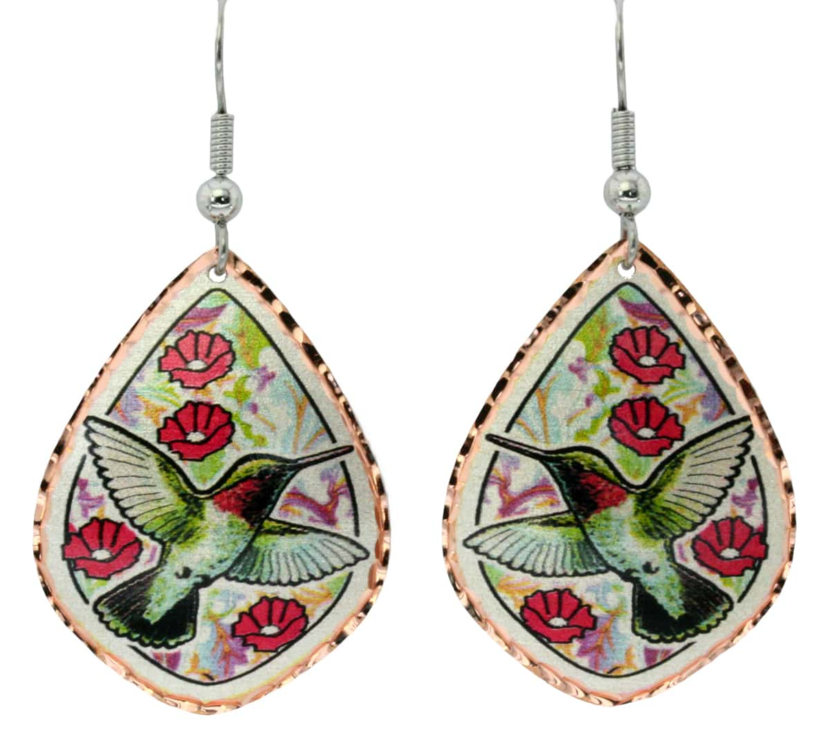 Show off your your love for nature wear hummingbird earrings