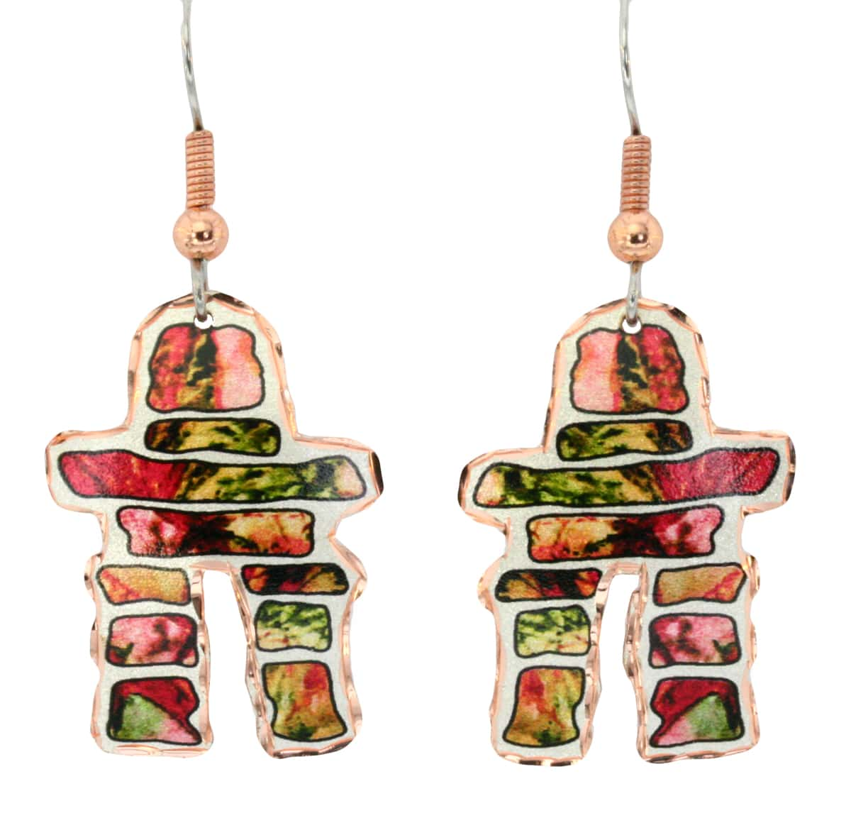 Canadian Inukshuk Earrings