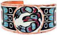 Wear this Northwest Native Haida eagle ring by Copper Reflections and get everyone's admiration