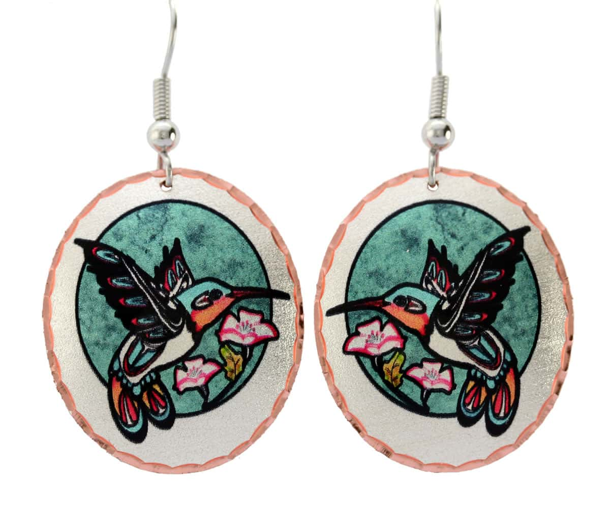 Buy Northwest Native hummingbird earrings that will make you feeling attractive