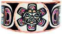 Northwest Native Sun Totem Jewelry Rings
