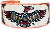 Northwest Native Haida Thunderbird Jewelry Rings