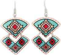 Wear these charming Southwest Native American earrings, you will be the envy of everyone