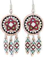 DAngle Southwest Native earrings are original and different from any earrings you ever had