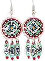 Handcrafted Native Dangle Earrings CM-04