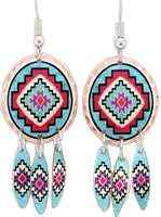 You will be amazed by the quality and originality of our handmade Southwest Native earrings