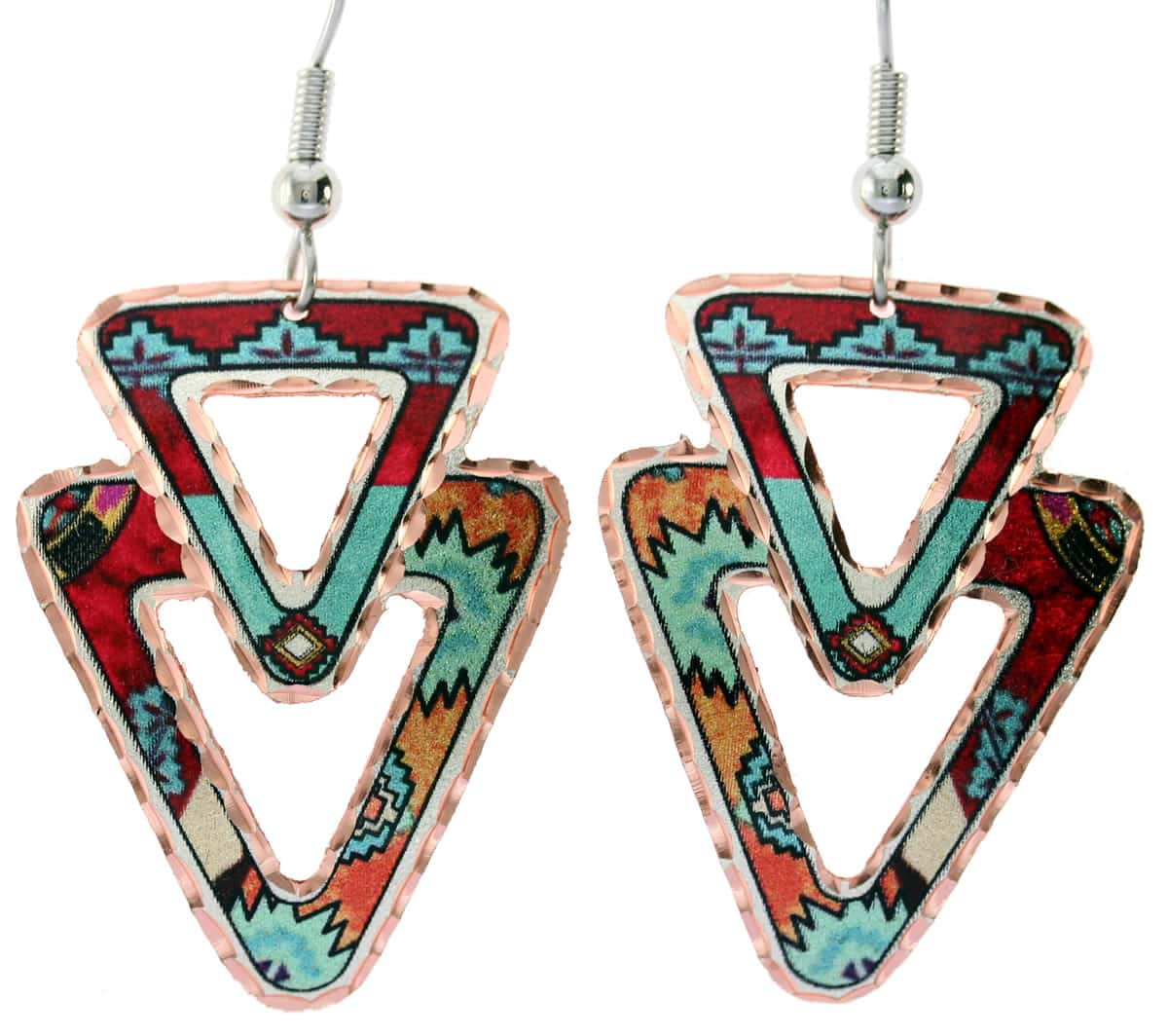 Wear Southwest Native American earrings for fashionably elegant and sophisticated look