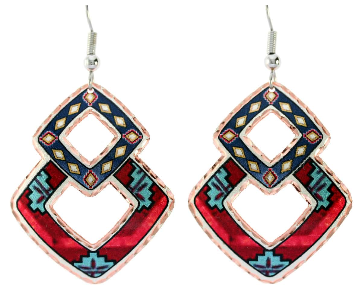 Buy elegant, pleasingly graceful and stylish Southwest Native American earrings
