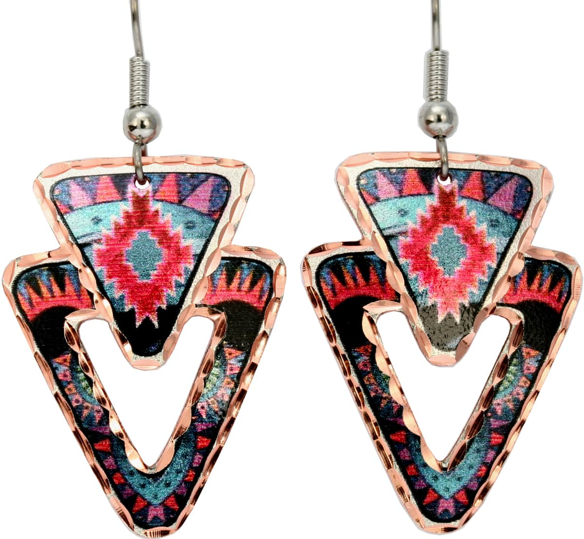 Abstract SW Native Earrings