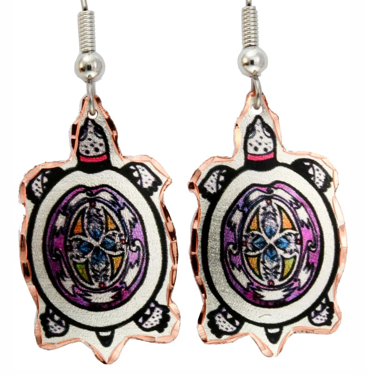 Buy Precious Turtle Earrings Handmade by Skilled Artisans