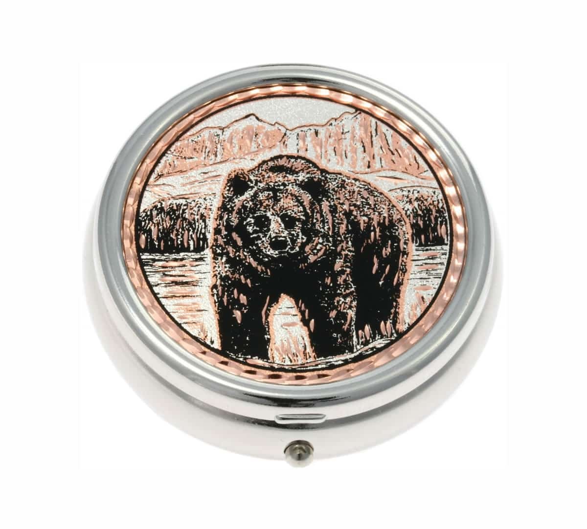 Buy Elegant Grizzly Bear Pill Boxes, Special Handmade Gifts for Women
