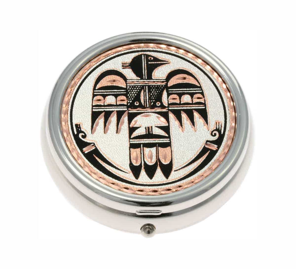 SW Native American Thunderbird Pill Boxes, Unique Handmade Gifts for Women