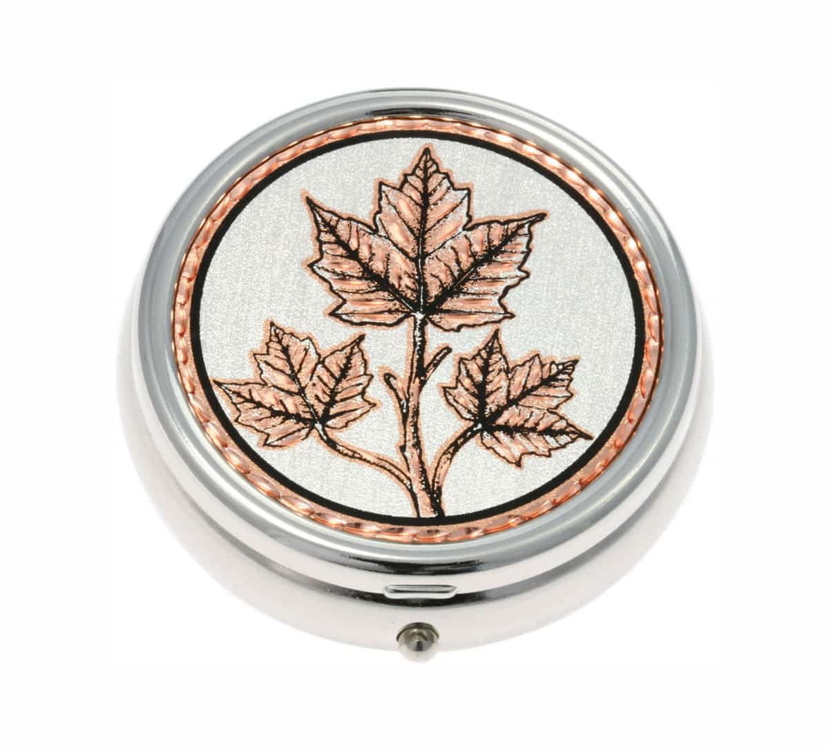Unique Handmade Gifts Ideas, Maple Leaves Pill Boxes