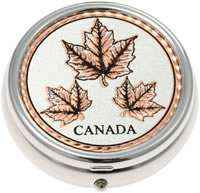 Buy Elegant Maple Leaves Pill Boxes, Special Handmade Gifts for Women