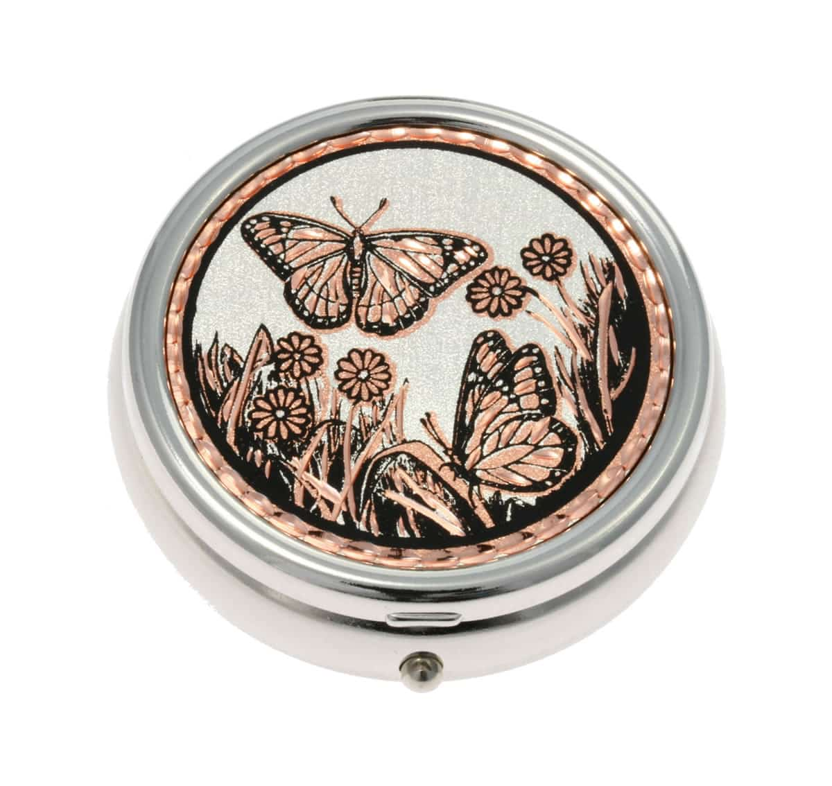 Elegant Butterfly Pill Boxes, Unique Handmade Gifts for Women