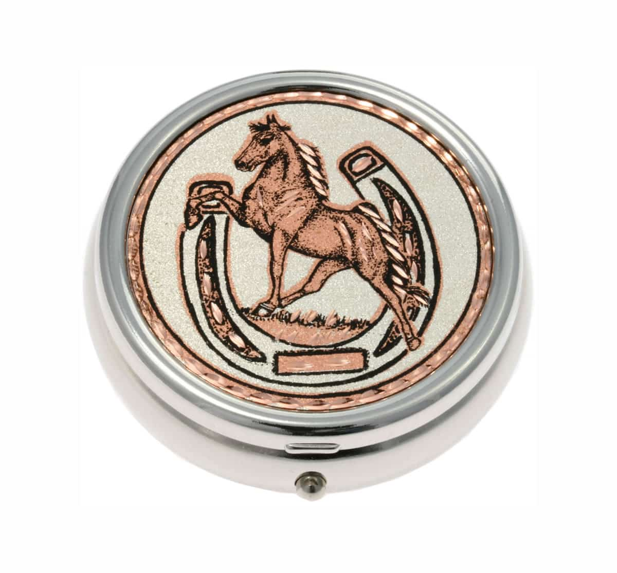 Buy Stylish Prancing Horse and Horseshoe Pill Boxes, Unique Handmade Gifts for Women