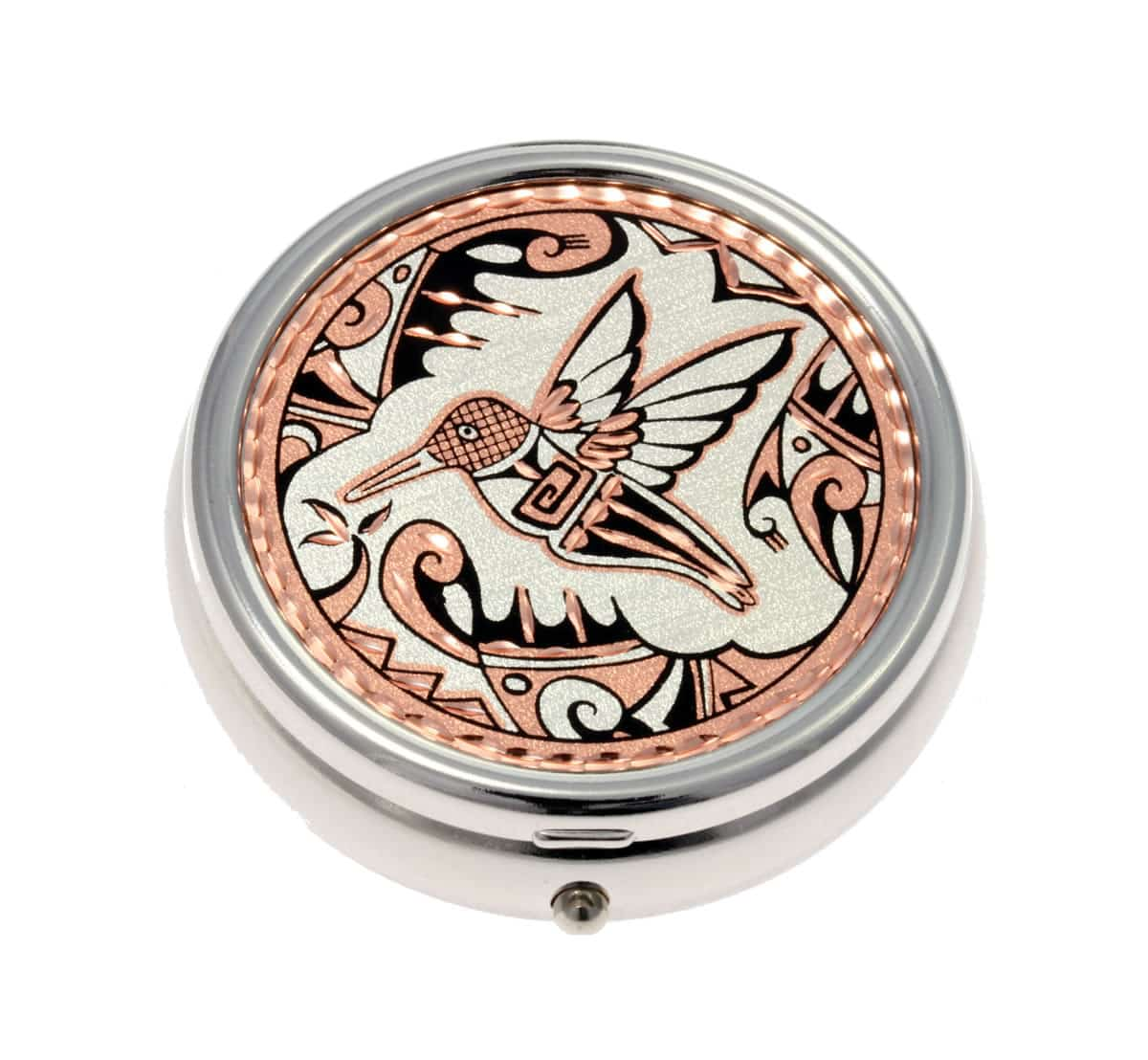 SW Native American Hummingbird Pill Boxes, Unique Handmade Gifts for Women