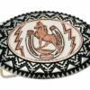 Handmade Western Belt Buckles, Horse and Horseshoe Cowboy Belt Buckles