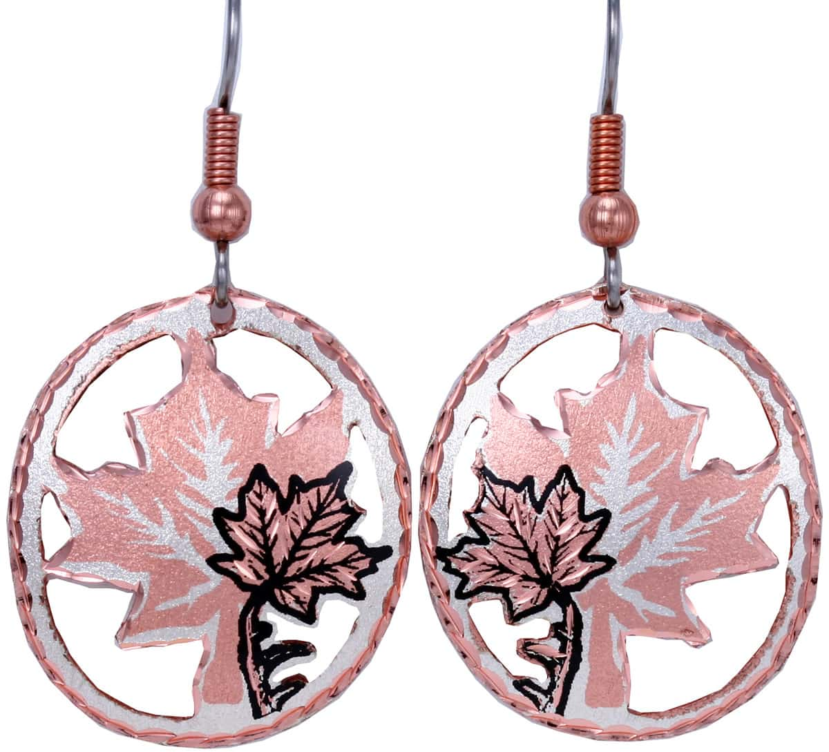 Check Out Our Charming Maple Leaf Earrings