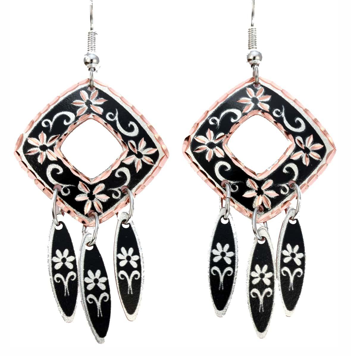 Wholesale Flower Dangle Earrings