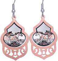 Unique Wild Horses Earrings for Horse Lovers
