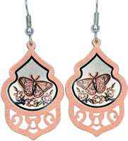 Browse through butterfly earrings handmade in fine quality