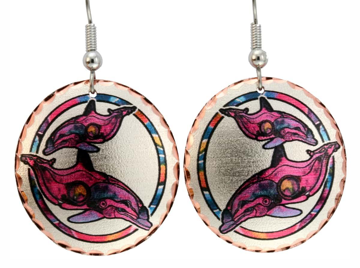 Dolphins Earrings Designed by Jo Lynch