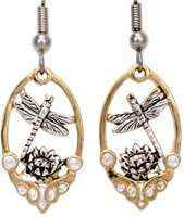 fashion jewelry, dragonfly earrings