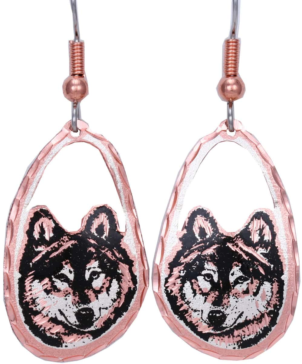 Browse through impressive selections of wolf earrings