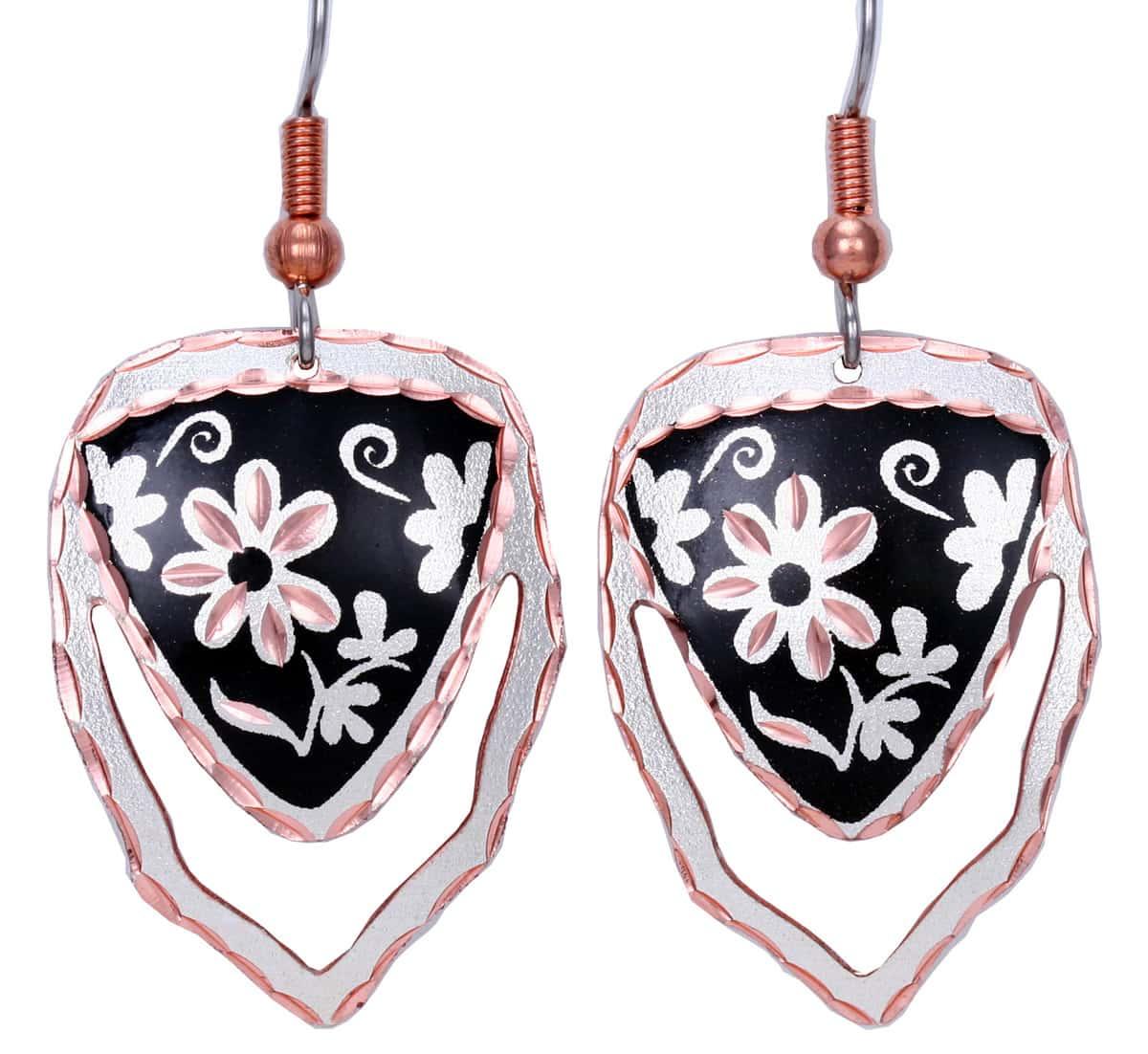 Wholesale Flower Cut Out Earrings
