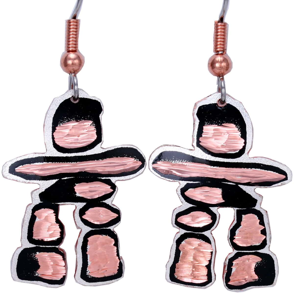 Handmade Canadian Inukshuk Earrings Wholesale