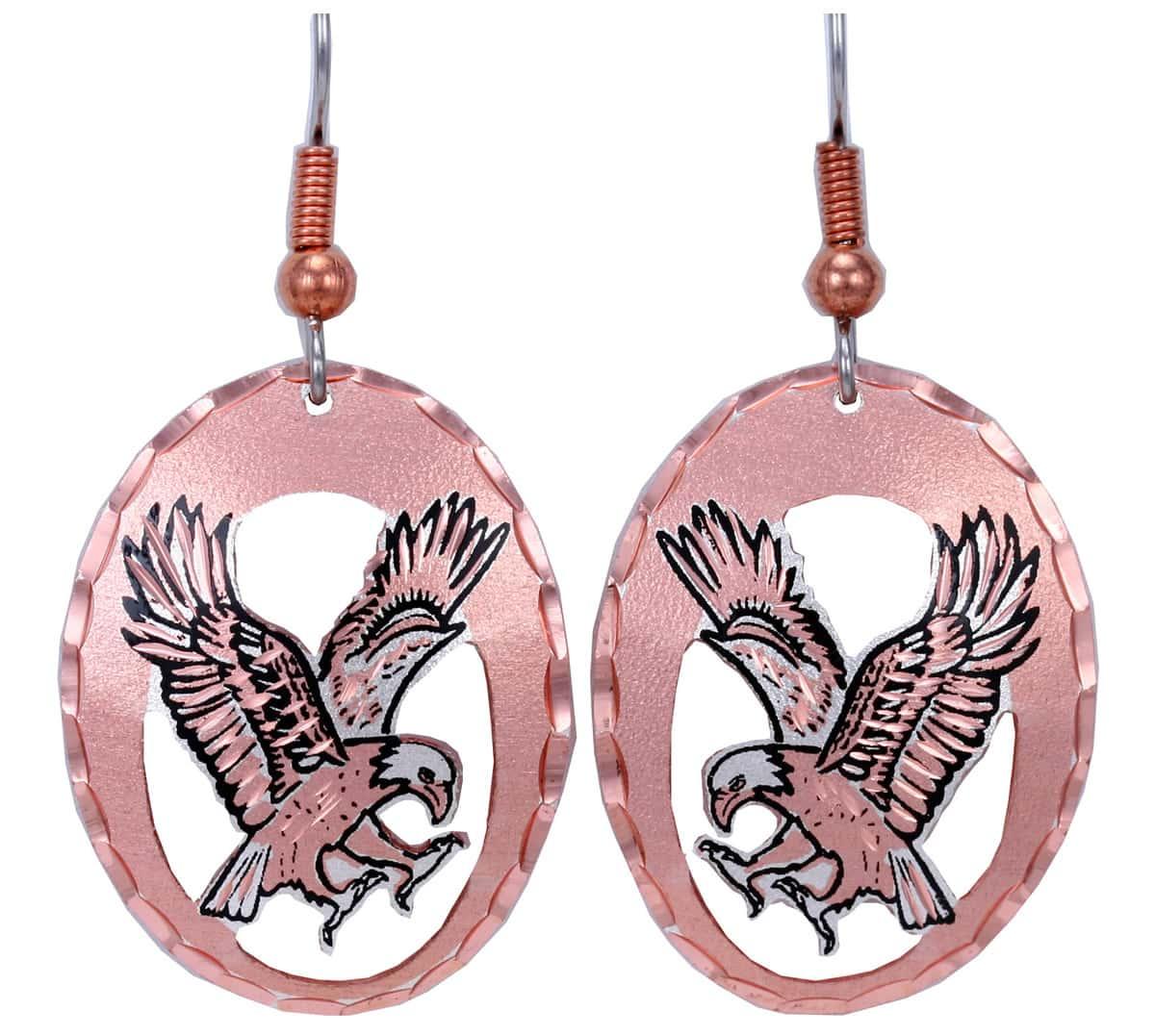 Handmade Bald Eagle Earrings Wholesale