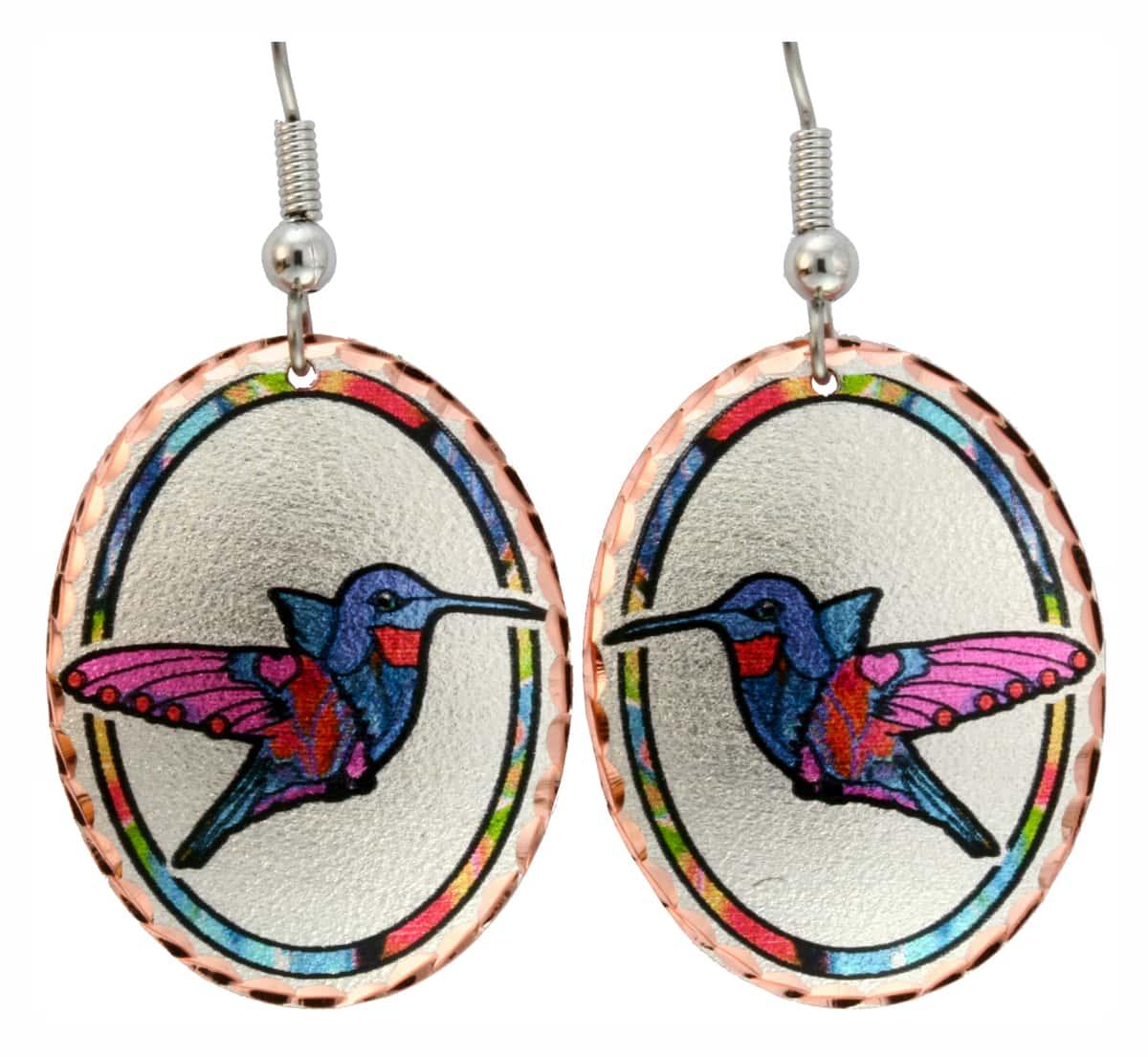 Hummingbird Earrings Designed by Jo Lynch