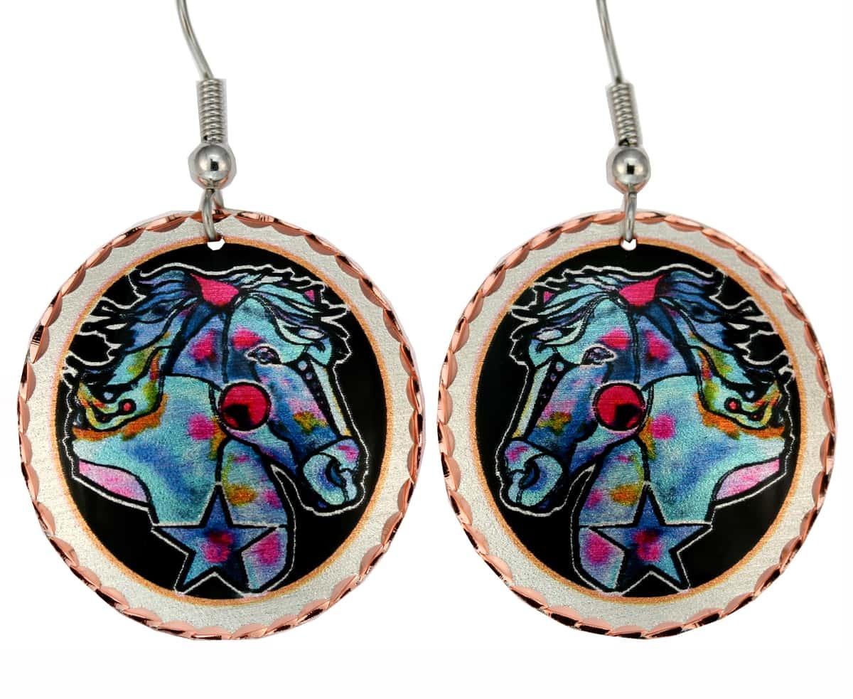 Jo Lynch Designed Horse Earrings