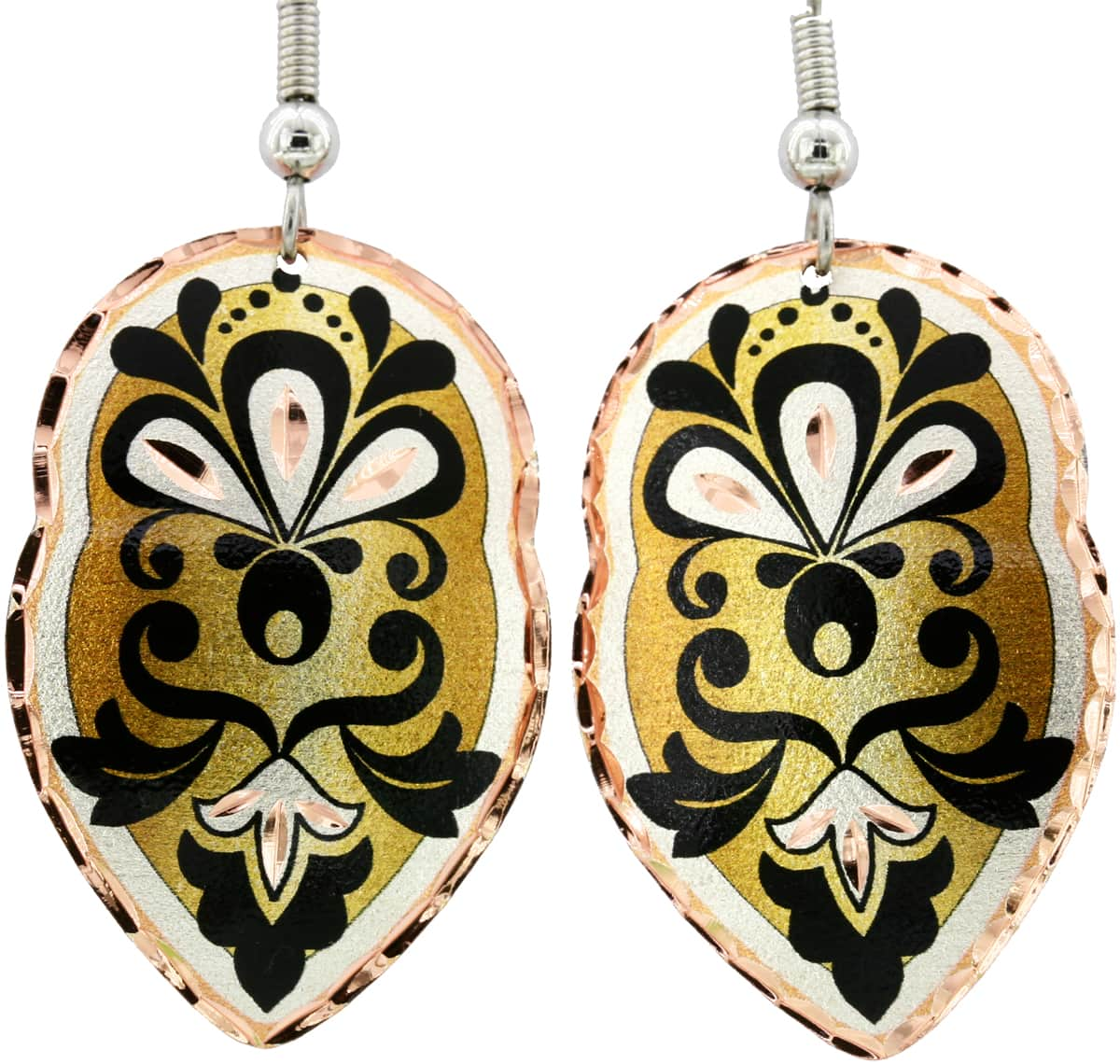 Handmade Floral Earrings