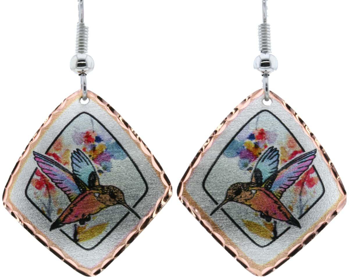 Enchanting Hummingbird Earrings