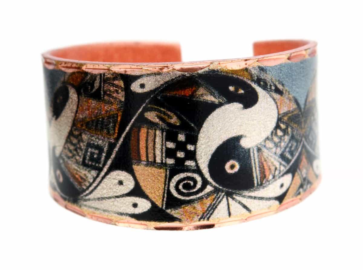 Pueblo Native American Copper Ring