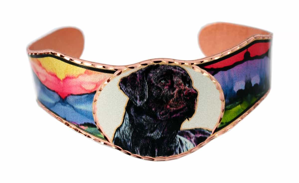Dog Bracelets, Black Lab Bracelets